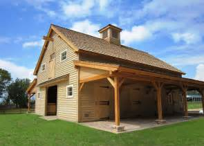Pole Barn House Designs Sasila Post And Beam Horse Barn Plans