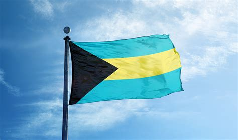 bahamas flag colors the colourful flag of bahamas decoded berger