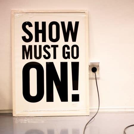 filskit blog: the show must go on