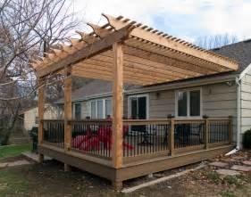Plastic Covers For Dining Room Chairs Boothe Cedar Pergola Over Composite Deck Traditional