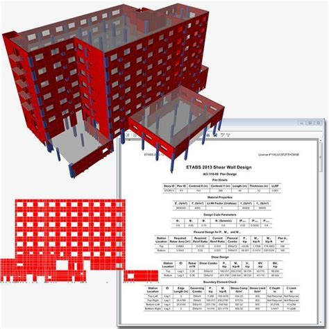 Modification Factor Slab Design by Features Building Analysis And Design Etabs
