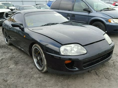 Toyota Supra Wrecked Salvage Toyota Supra For Sale In California Difference