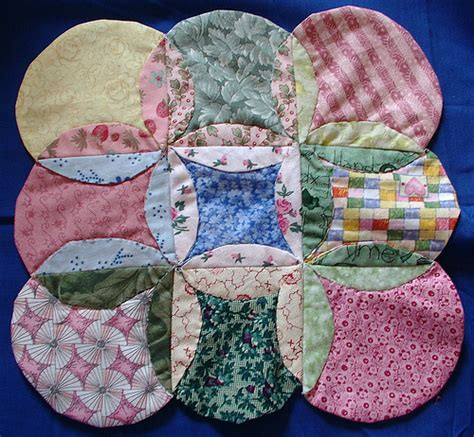 Mock Cathedral Window Quilt Pattern by Cathedral Windows Quilt S Creations