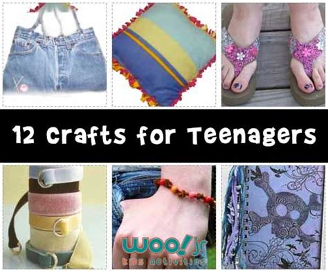 craft projects for teenagers crafts woo jr activities