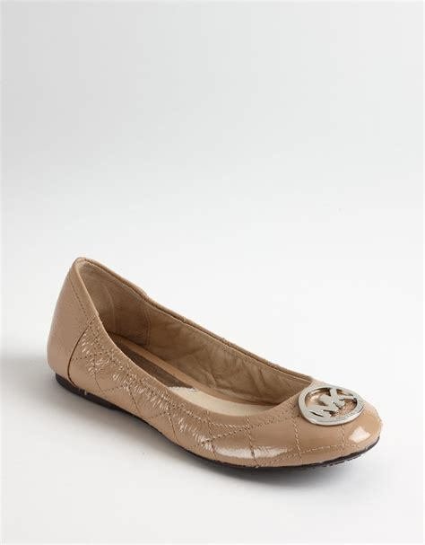 Michael Kors Fulton Quilted Ballet Flats by Michael Michael Kors Fulton Quilted Leather Ballet Flats
