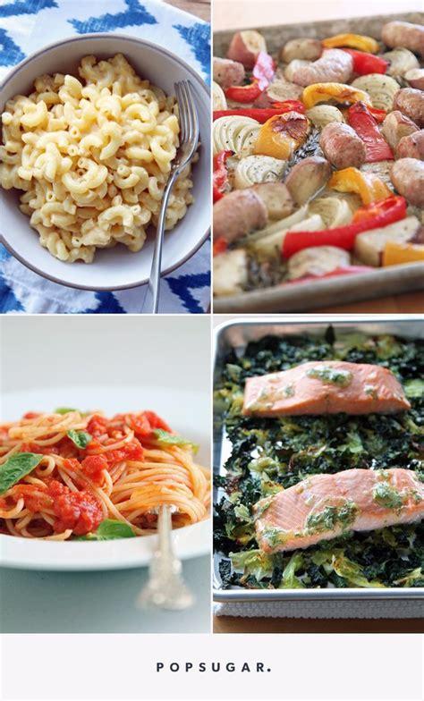 easy dinner recipes for beginners popsugar food
