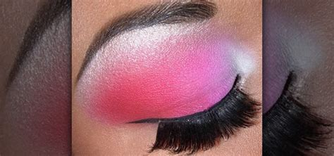 how to do a white pink amp red pink bold eye makeup