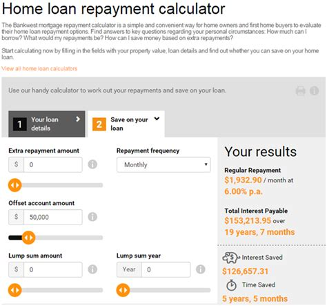 calculator housing loan westpac housing loan calculator 28 images westpac to raise home loan interest