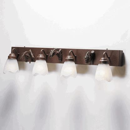 pine cone vanity lights 3d pinecone vanity lights by colorado dallas