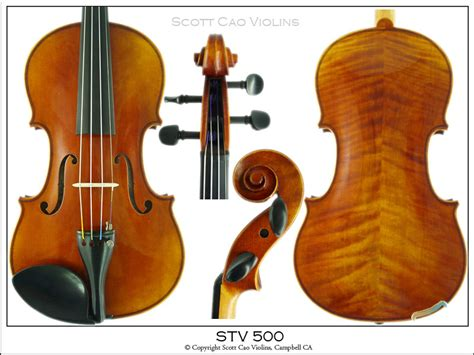 Biola Cao Stv 500 cao 500 carved step up violin