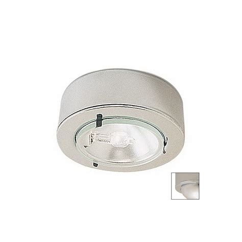 Shop Nora Lighting 2 625 In Hardwired Under Cabinet Xenon Cabinet Lighting Puck