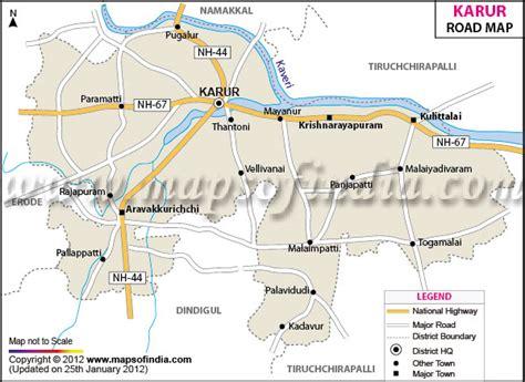 karur road map