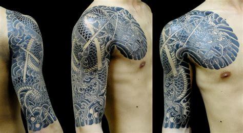 water dragon tattoo japanese horimitsu the god of water