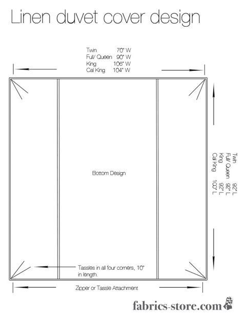 How To Fit A Duvet Cover diy linen duvet cover