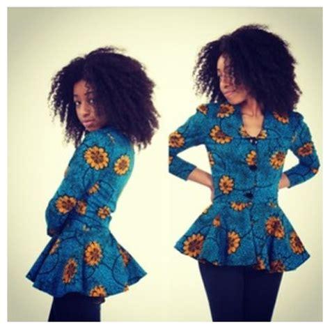nigerian ankara jackets peplum jacket african prints pinterest peplum jacket