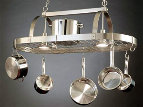 A Pot Rack in Its Proper Place   HGTV