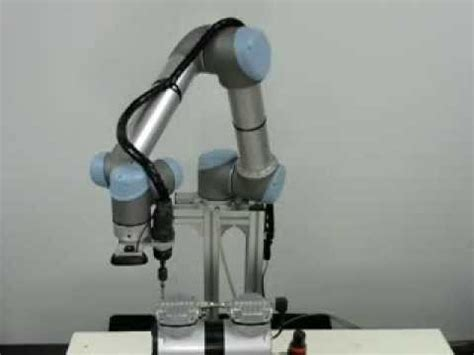 universal robots vision guided system with normal web