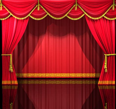 theater stage curtains theatre curtains 3d c4d