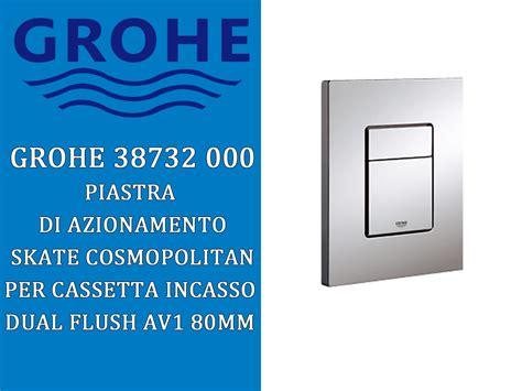 grohedal cassetta incasso arckstone casa grohe 38863 cassetta canotto piastra