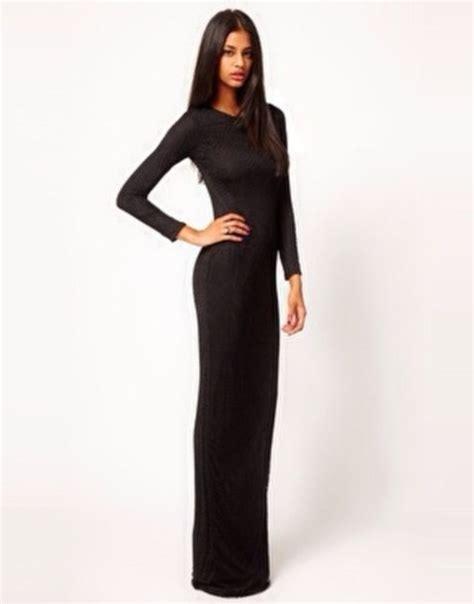 dress black sleeves sleeve dress form