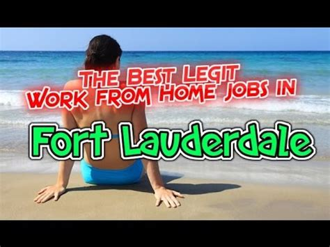 best work from home in fort lauderdale fl florida