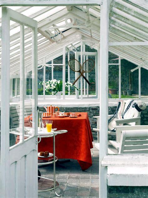 greenhouse conservatory converted interior design ideas