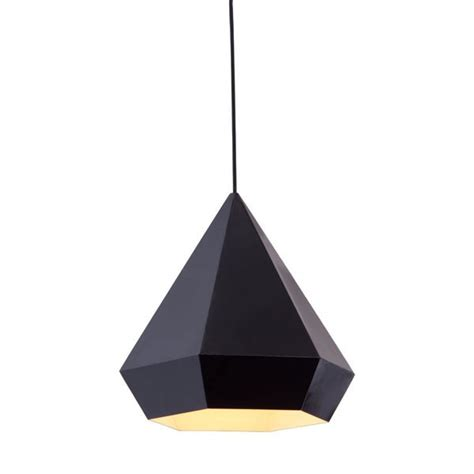 Sofa Lamp Zuo Modern Forecast Ceiling Lamp In Black At Modernist