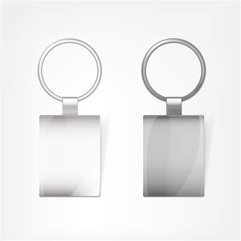 Card Template Key Chain by Shining Keychain Template Vectors 02 Vector Other Free