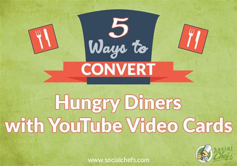 How To Use Restaurant Com Gift Card - 5 ways to use youtube video cards for restaurants