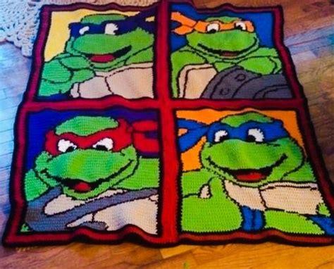 crochet pattern ninja turtle blanket items similar to crochet teenage mutant ninja turtle