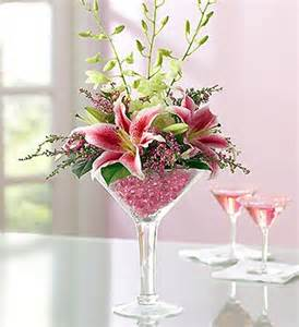 oversized martini glass centerpieces martini glass flowers awesome floral arrangement