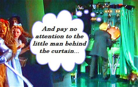 wizard of oz curtain quote behind the scenes of facebook pages intuitionat40