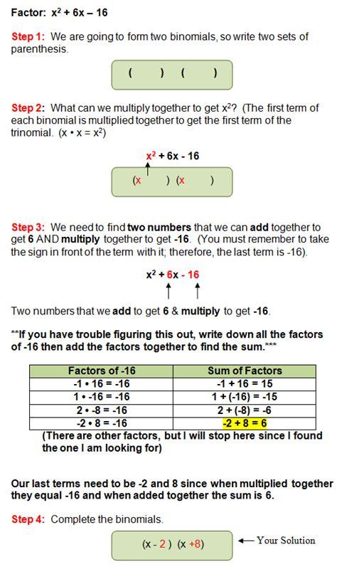calculator with steps factoring quadratic equations into polynomials calculator