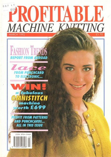 knitting magazine 1000 images about profitable machine knitting magazine on