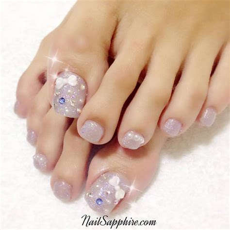 Gel Pedicure by 61 Stunning Wedding Toe Nail Ideas For Your Big Day