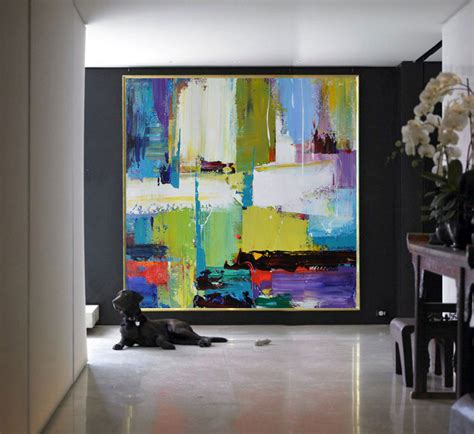 large artwork handmade large contemporary art canvas painting by