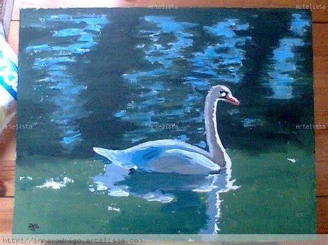 imagenes para dibujar en lienzo faciles cisne para mam 225 inma rodrigo mungu 237 a artelista com