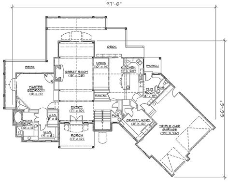 custom rambler floor plans house plans rambler
