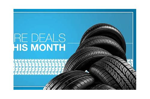 tire rebate deals