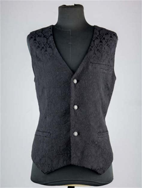 black and white pattern vest black pattern mens gothic vest devilnight co uk