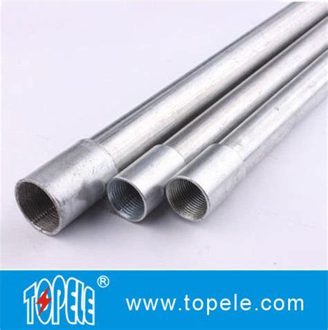 """3/4"""" hot dipped galvanized bs4568 conduit / gi pipe with"""