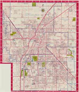 Las Vegas Street Map by A Cartographic Journey Through Las Vegas History Part 1
