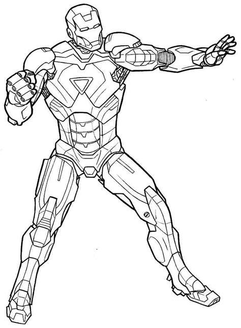imagenes para dibujar iron man iron man 90 superh 233 roes p 225 ginas para colorear
