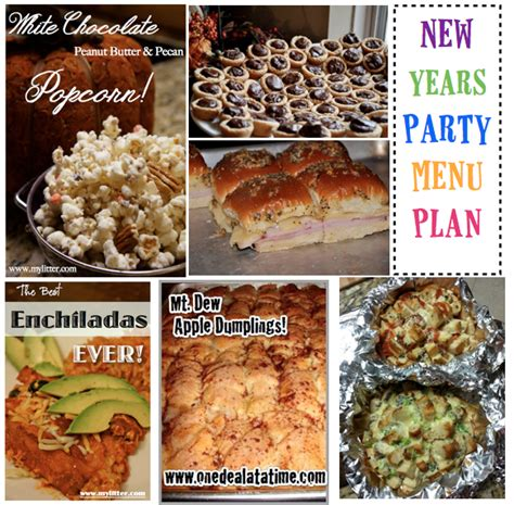 new years recipe ideas new years recipe menu plan mylitter one deal