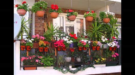 design flower balcony garden ideas balcony plant pots ideas youtube