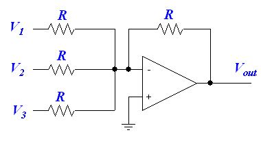 summing with resistors circuit to convert from stereo to mono techtalk speaker