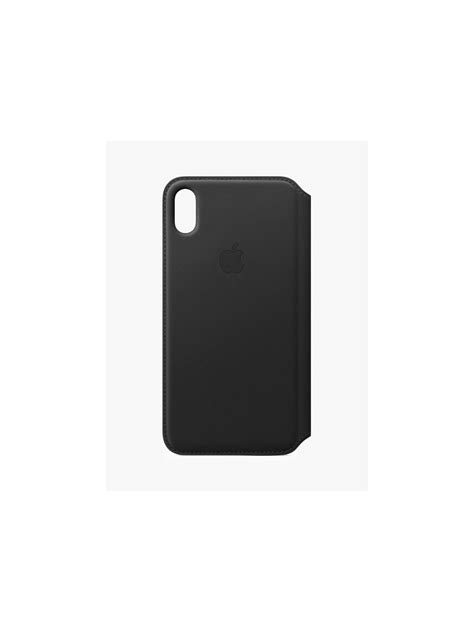 apple leather folio for iphone xs max at lewis partners