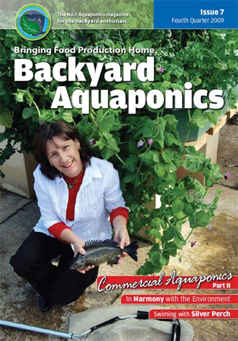 backyard aquaponics magazine aquaponics magazine excellent reasons to test home