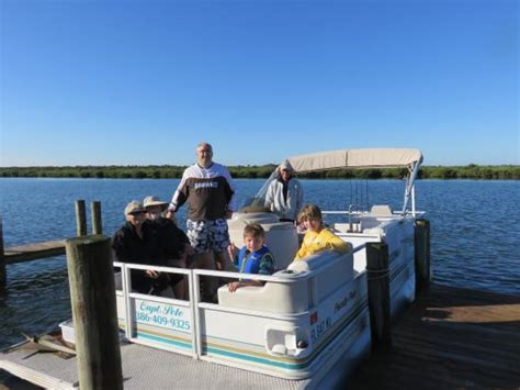 turtle mound boat tours new smyrna beach jb s boat dock getting ready to cast off picture of
