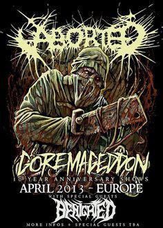 aborted goremageddon vinyl aborted goremageddon metal grind pinterest music